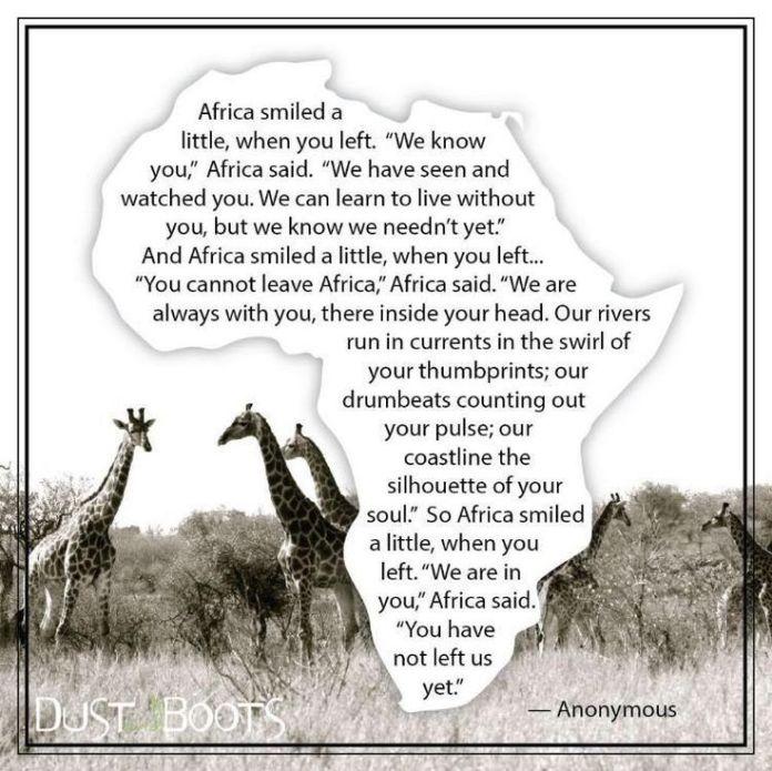 africa poem